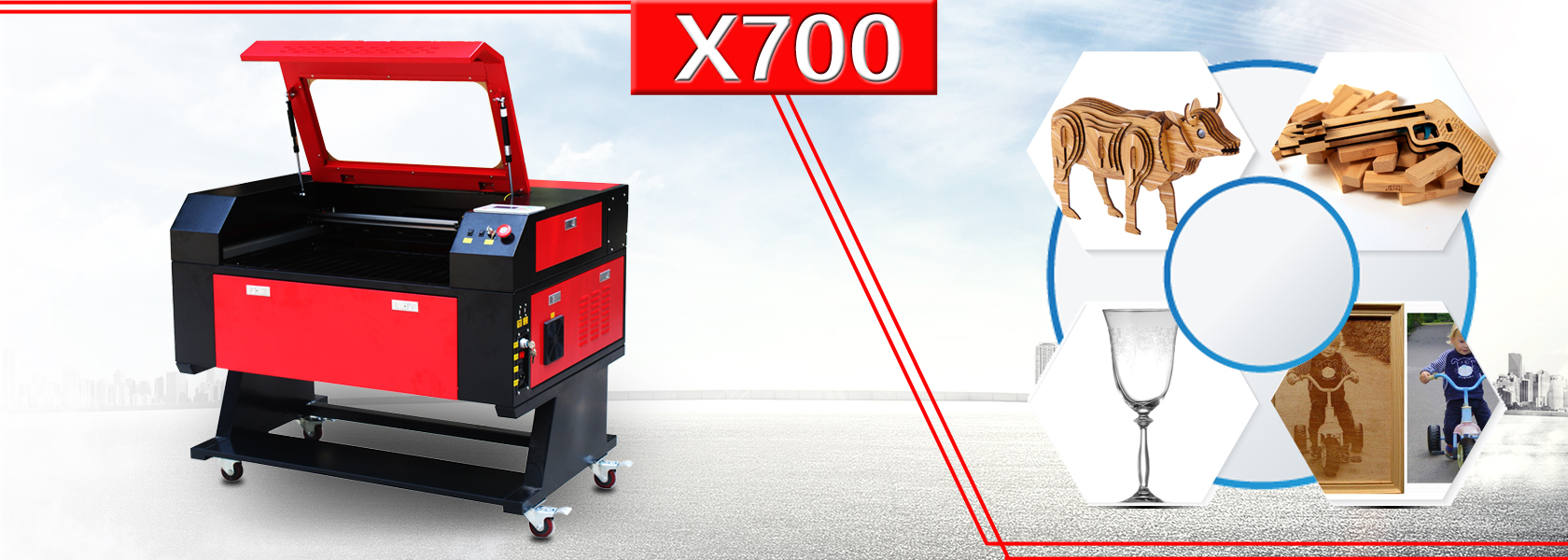 X700 laser engraver machine